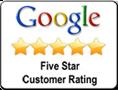 Google 5 Star Customer Service